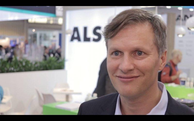 Kai Steinbach von Arcserve auf der it-sa 2018