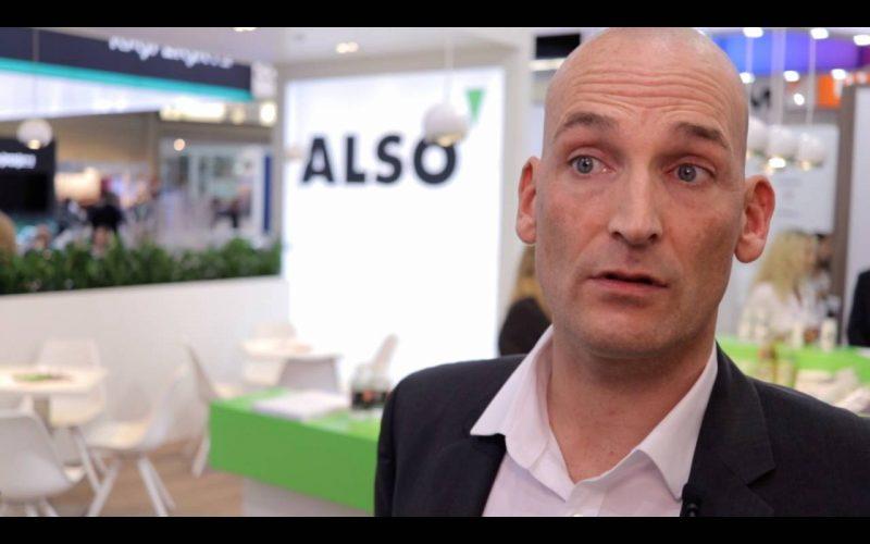 Rüdiger Frank von Arcserve auf der it-sa 2018