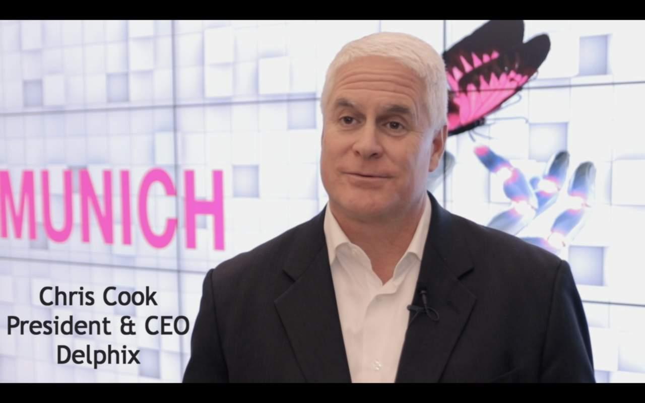 Chris Cook, President und CEO von Delphix