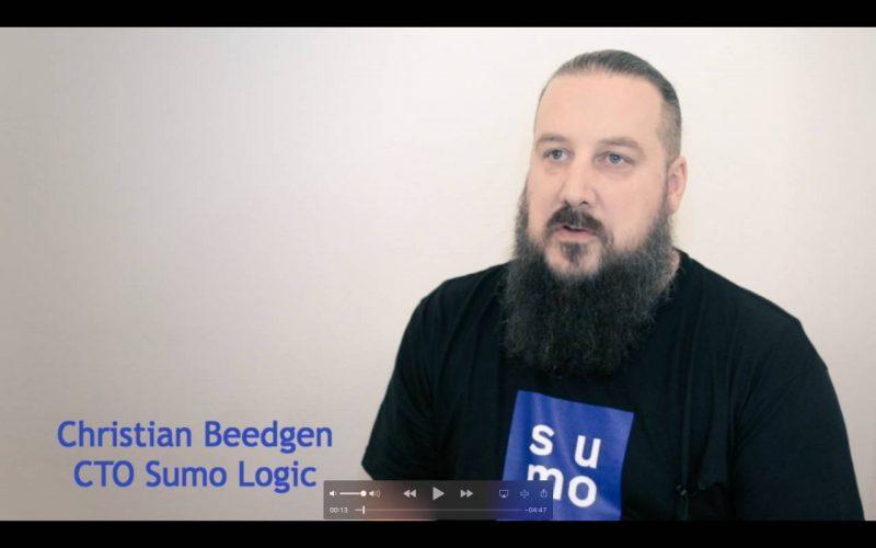 Christian Beedgen, CTO und Mitgründer vomn Sumo Logic