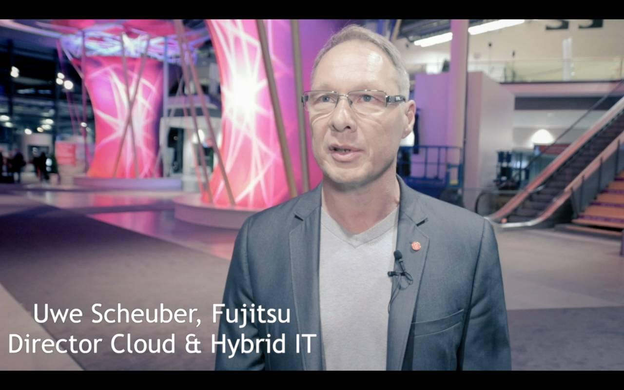 Uwe Scheuber, Fujitsu Deutschland