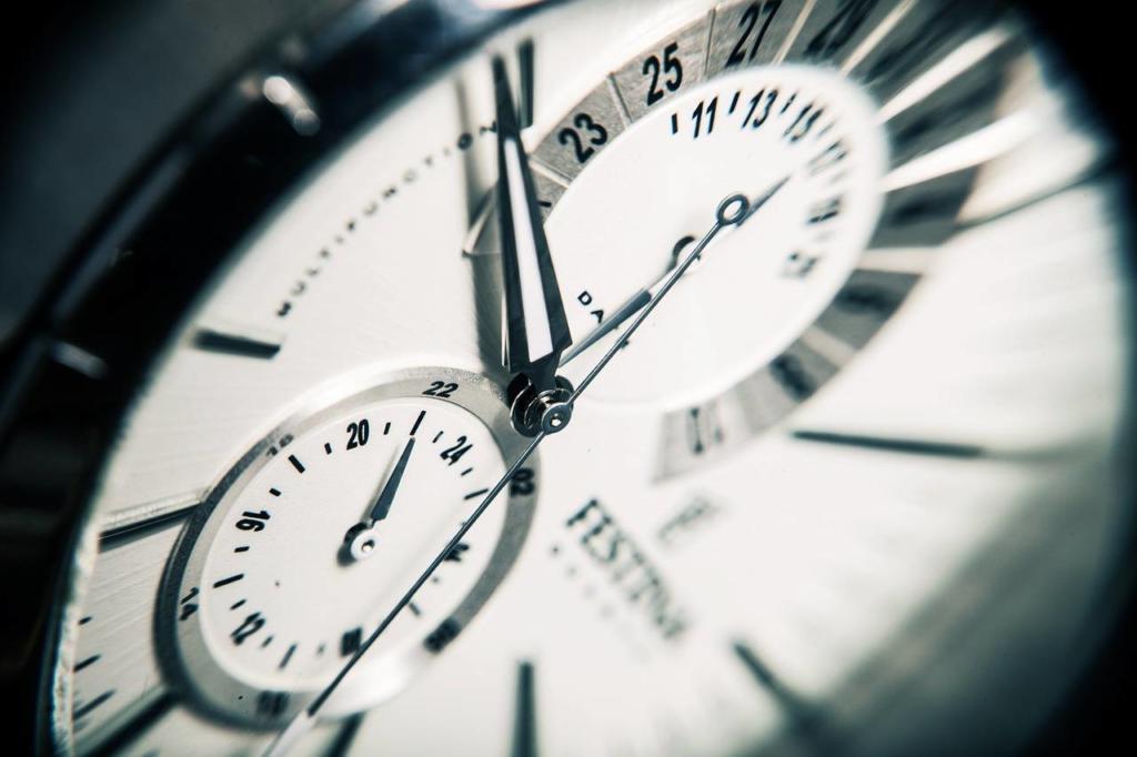 Uhr als Symbol für Zeiterfassung