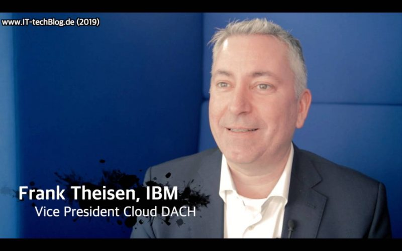 Frank Theisen, VP Cloud DACH, über Cloud-Trends 2019