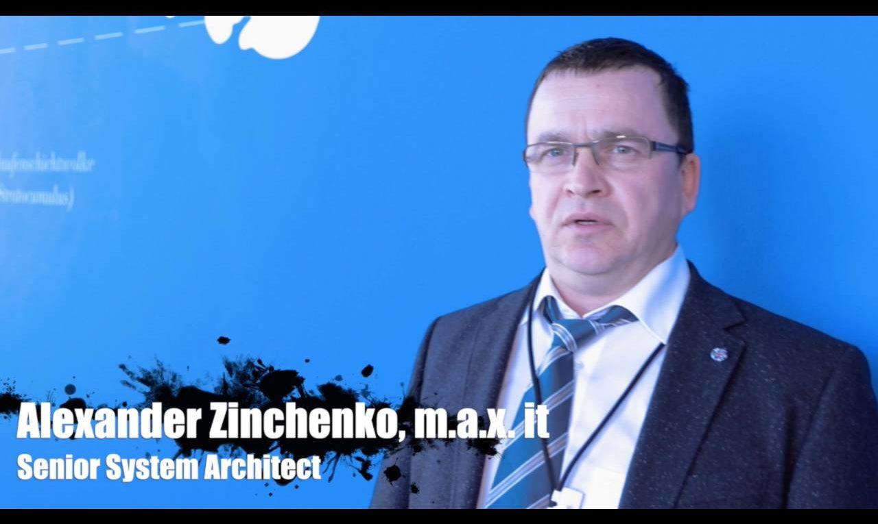 Alexander Zinchenko, m.a.x. it, über den Kundeneinsatz von IBM Spectrum Scale