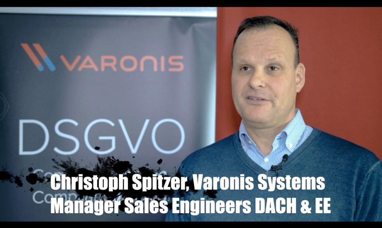 Christoph Spitzer von Varonis Systems über den richtigen Umgang mit unstrukturierten Daten