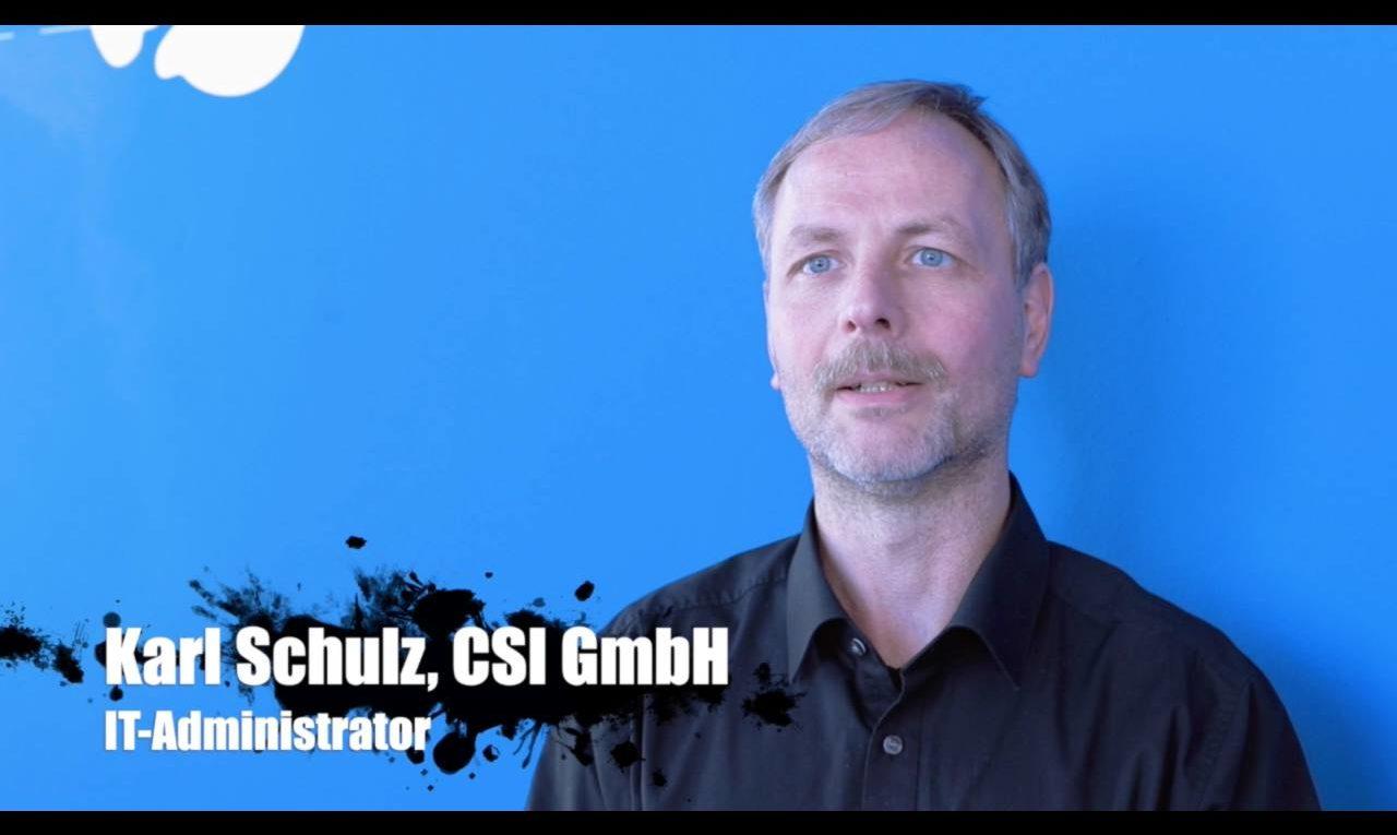 Karl Schulz, CIS, über den internen Einsatz von IBM Spectrum Scale