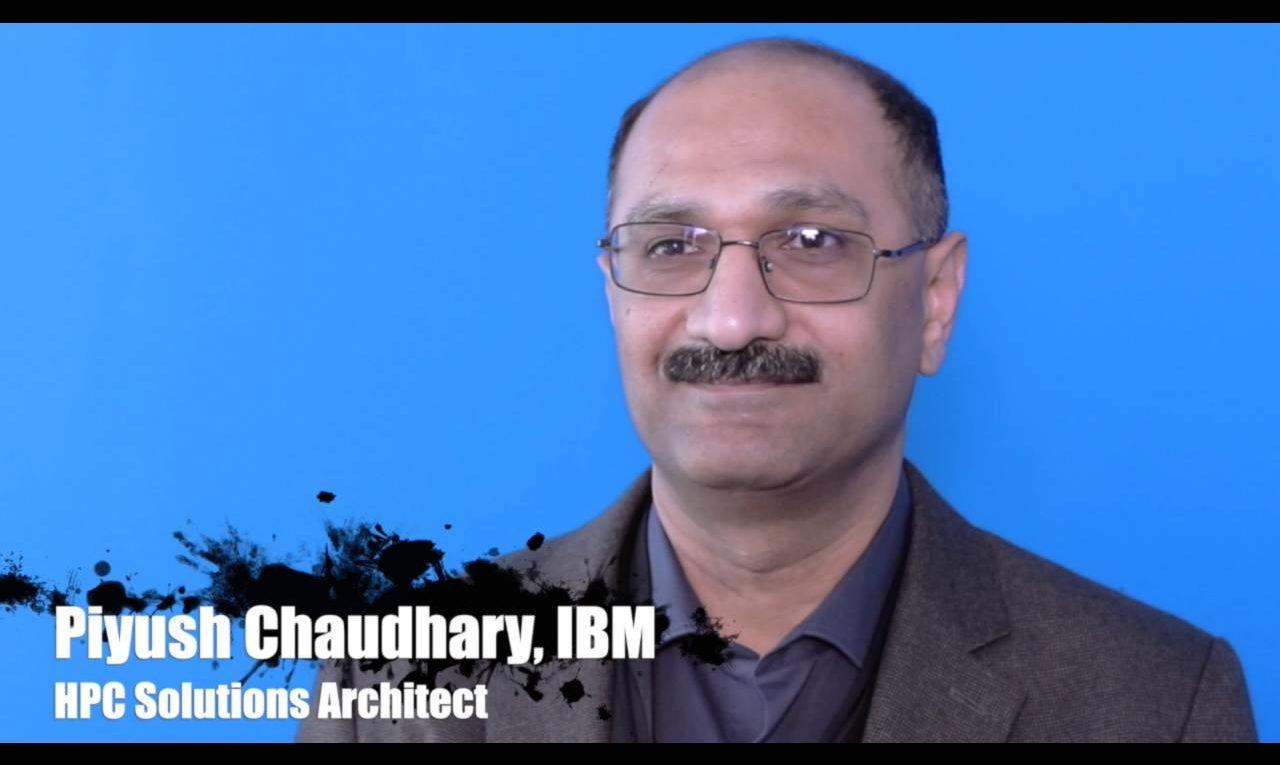 Piyush Chaudhary von IBM über IBM Spectrum Scale und NVIDIA DGX