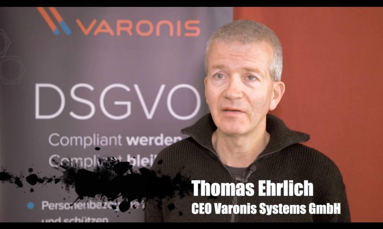 Thomas Ehrlich, CEO der Varonis Systems GmbH, über Datenschutz und Datensicherheit