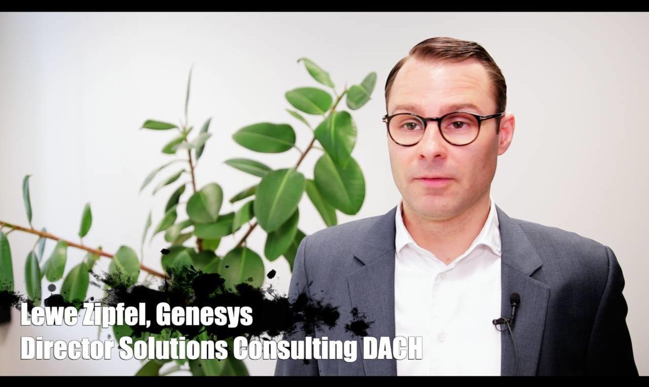 Lewe Zipfel, Genesys, über die Künstliche Intelligenz als proaktiver Kundenberater