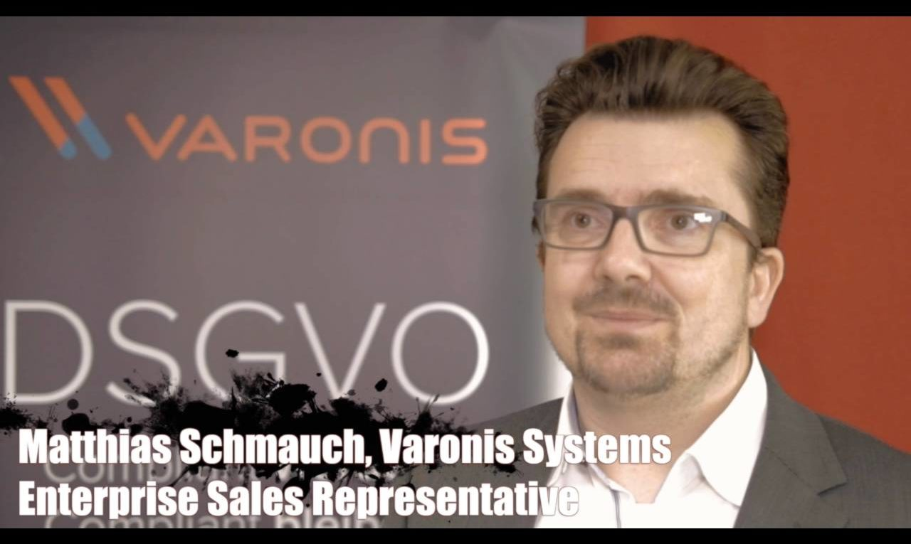 Matthias Schmauch, Varonis, über den Datenschutz in Zeiten von Office 365 & Co.
