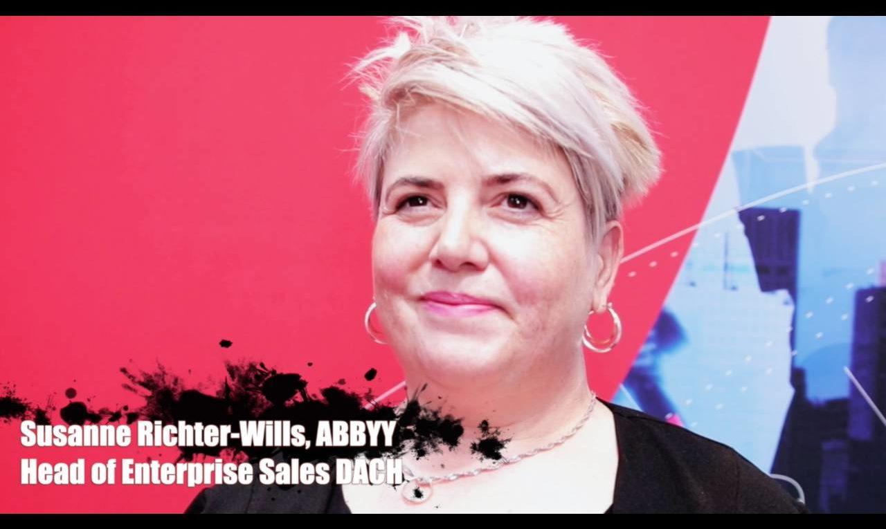 Susanne Richter-Wills, Abbyy, über die Automatisierung von Arbeitsabläufen mittels KI