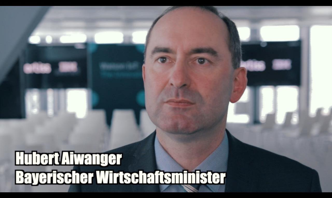 """Videoblog: """"Das 'IBM fortiss Center of AI' ist für Bayern und München wichtig"""" 1"""