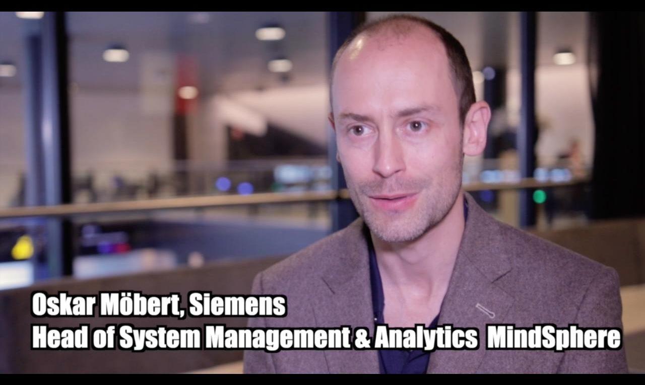 Oskar Möbert (Siemens) über die Verbindung Mendix und Siemens