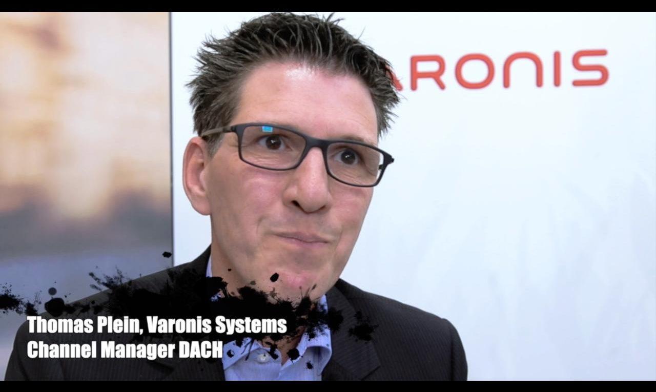 """Videoblog: """"Channel Partner sind für Varonis enorm wichtig"""" 1"""