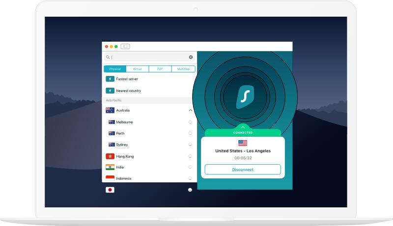 Mit Surfshark für macOS, iOS, Android und Co. abhörsichere VPN-Verbindungen aufbauen 3