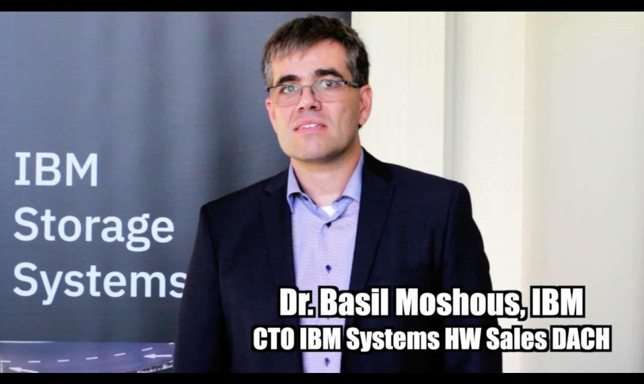 Dr. Basil Moshous von IBM über Künstliche Intelligenz + Storage
