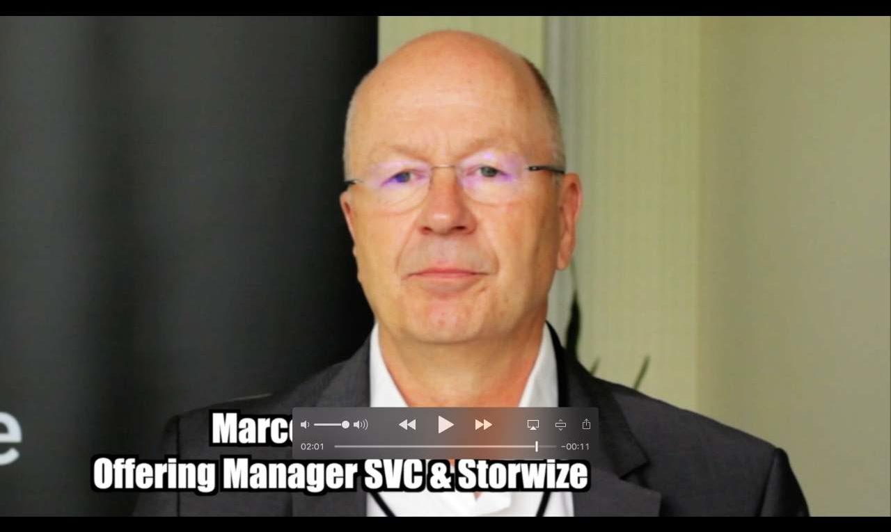 Marcel Klotz (IBM) über hochverfügbare Storage-Systeme von IBM