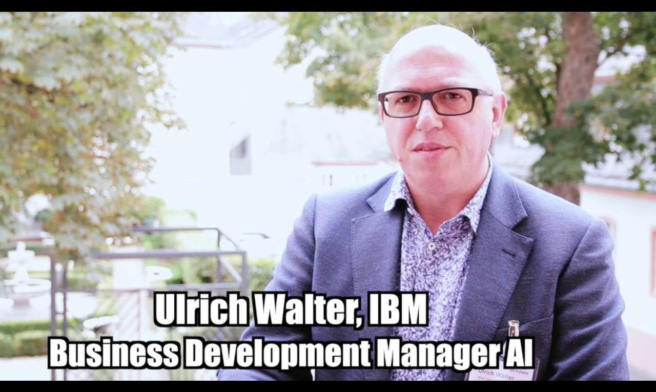 Uli Walter (IBM) - Die Chancen der Künstlichen Intelligenz