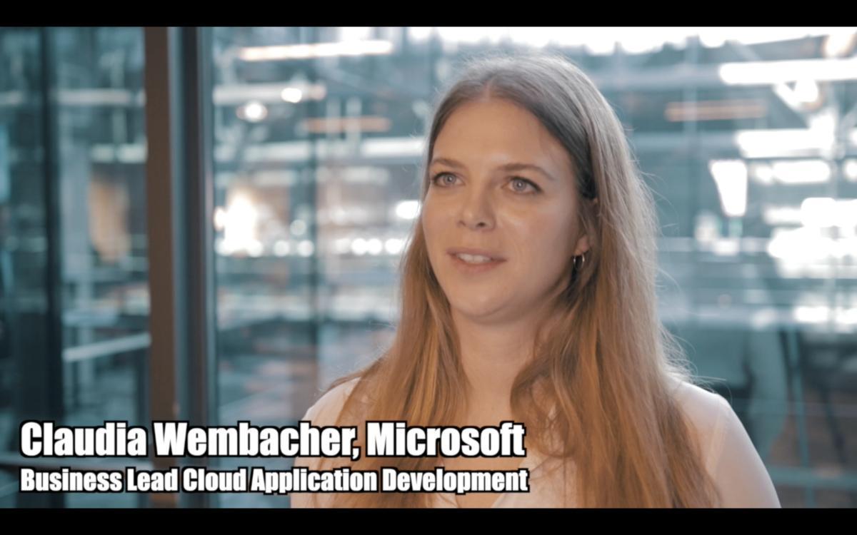 Claudia Wembacher (Microsoft) über die IDC-DevOps-Studie 2020