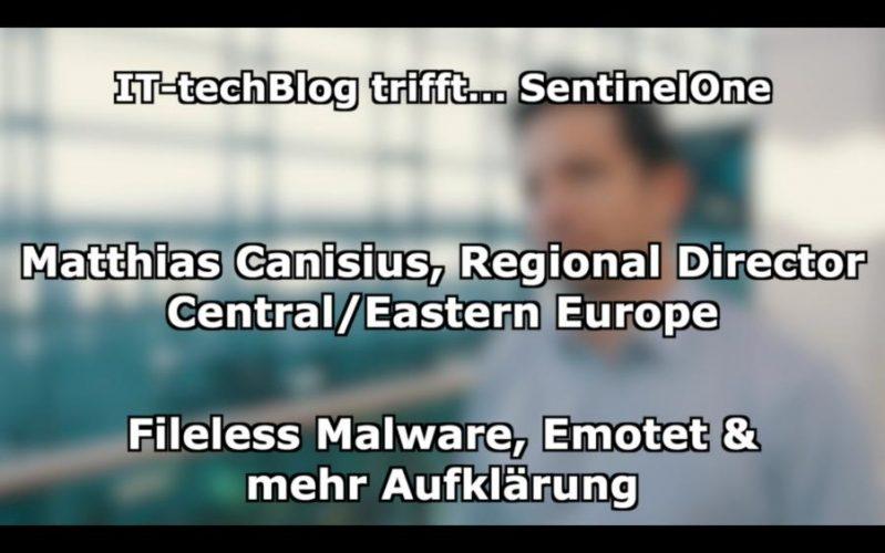 Matthias Canisius über Emotet und Co.