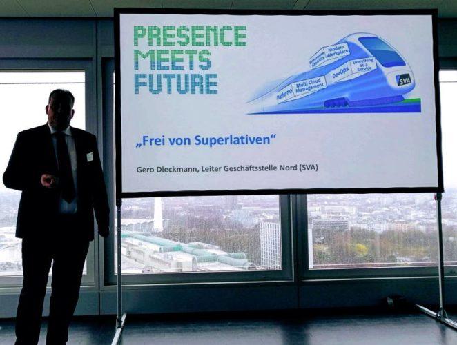 Gero Dieckmann bei seiner Keynote-Präsentation