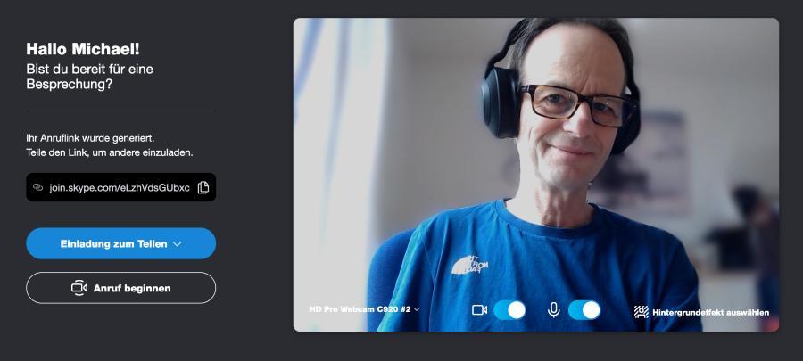 Mit Skype und Co. lassen sich virtuelle Videointerviews führen