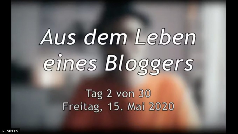Aus dem Leben eines Bloggers