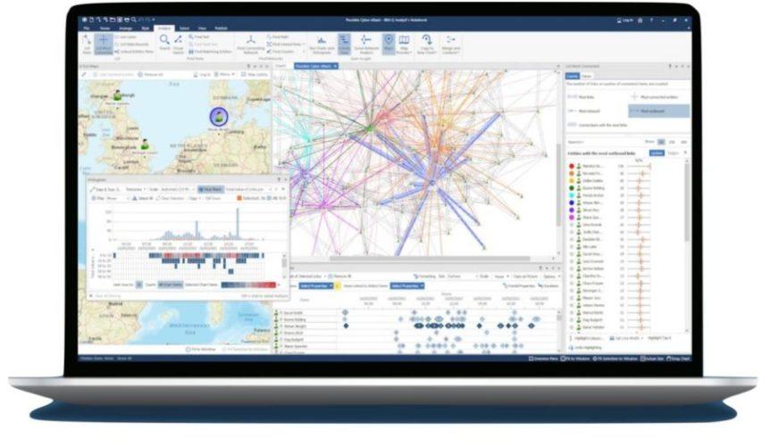 Mit IBM i2 Enterprise Insight Analysis lassen sich Cyber-Bedrohungen aufspüren