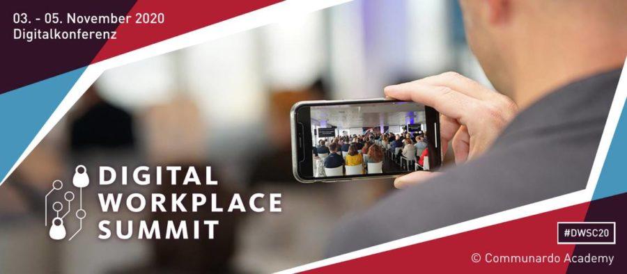 Cummunardo Digital Workplace Summit 2020 - Headerbild