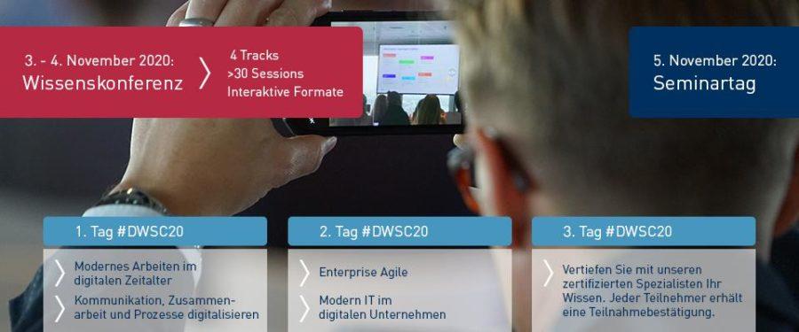 Cummunardo Digital Workplace Summit 2020 - Programmübersicht