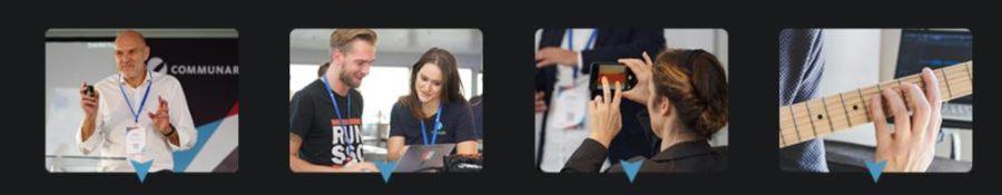 Cummunardo Digital Workplace Summit 2020 - interaktives Progrogramm