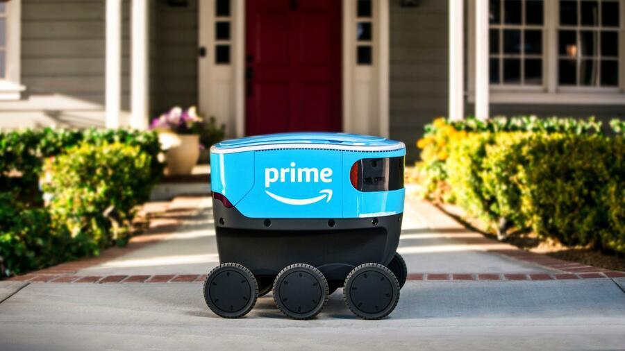 Amazon testete 2019 autonom fahrende Roboter zu Lieferzwecken