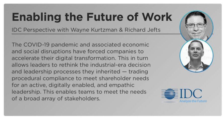 HCL Digital Week 2020 - Gespräch mit IDC über Arbeit der Zukunft