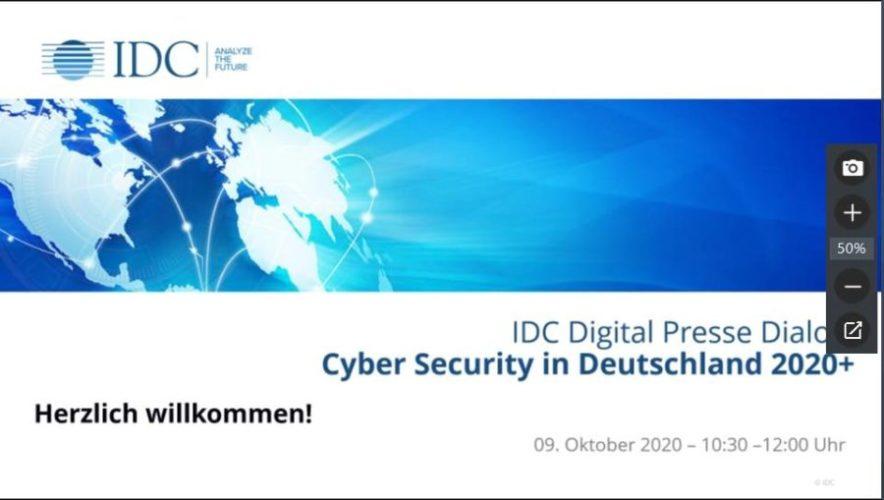 IDC-Studie Cyber Security in Deutschland 2020+