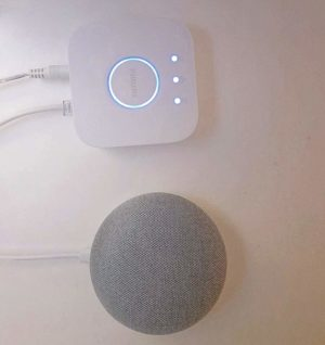 Google Homer mini und Philips Hue