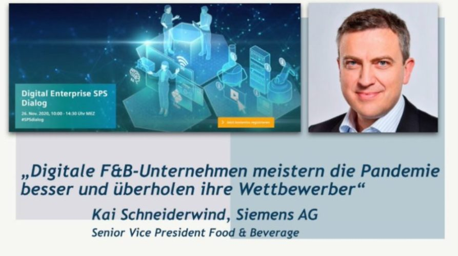Kai Schneiderwind, Siemens AG, über die digitale Transformation von Brauereien