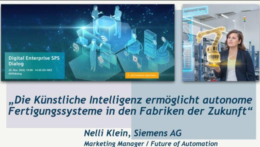 Nelli Klein (Siemens AG) über intelligente Verpackungsmaschinen und Künstliche Intelligenz
