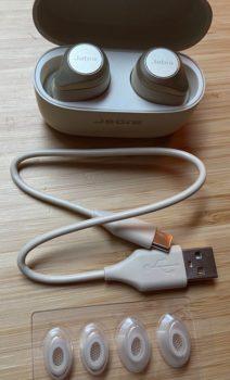 Jabra Elite 85t Zubehör - USB-C-Kabel, Ersatz-EarGels
