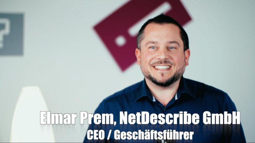 Elmar Prem (NetDescribe) über die Zusammenarbeit mit SentinelOne