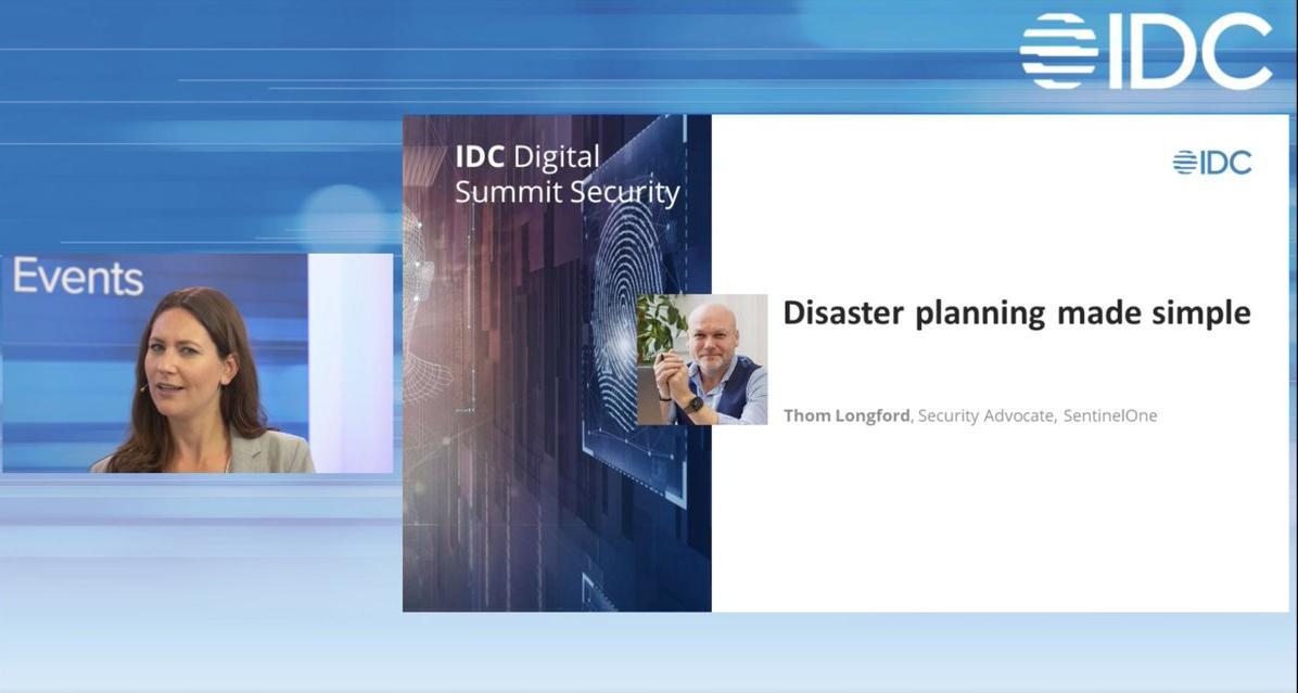 Thom Langford (SentinelOne) spricht über die notwendigen Schritte nach einem Sicherheitsvorfall