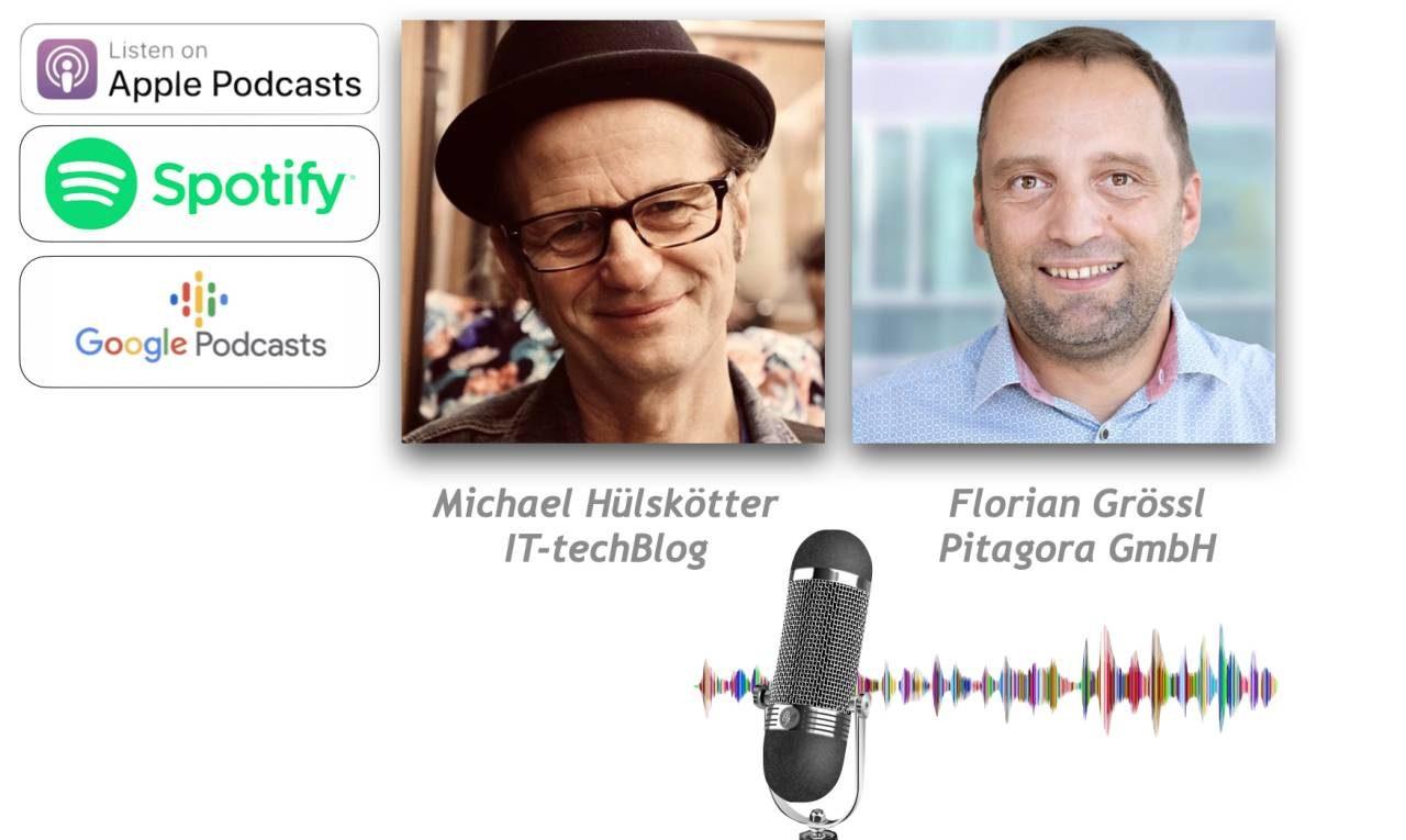 Pitagora Podcast Florian Grössl über Pitagora Managed Services
