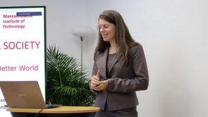 birkle IT-Presseevent: Prof. Dr. Anna Frebel vom MIT