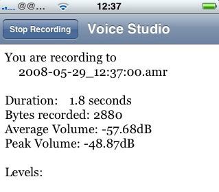 Mit Voice Notes fungiert das iPhone als rudimentäres Diktiergerät
